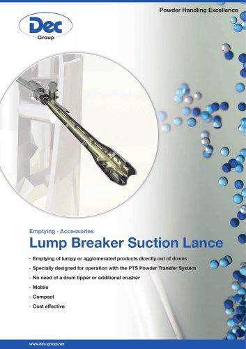 Lump Breaker Suction Lance