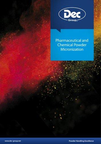 Pharmaceutical & Chemical Powder Micronization