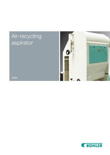 Air-recycling aspirator MVSR