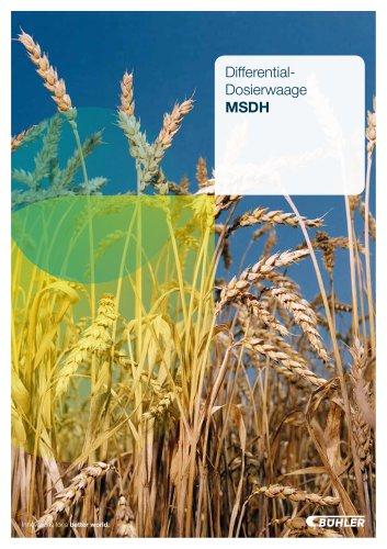 Differential-Dosierwaage MSDH