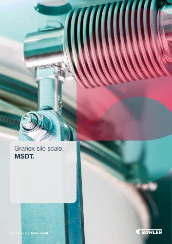 Granex silo scale. MSDT.
