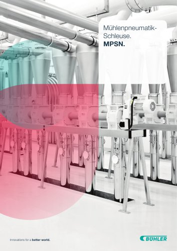 Mühlenpneumatikschleuse MPSN