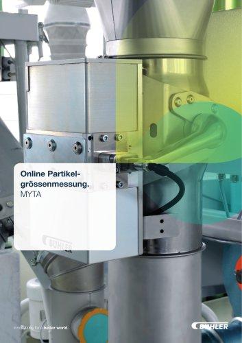 Online Partikelgrössenmessung MYTA