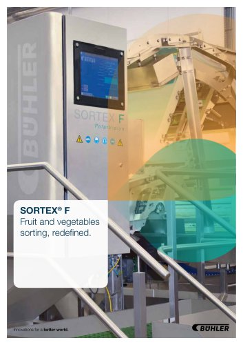 SORTEX F PolarVision for Fruits & Vegetables
