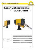 Laser Lichtschranke VLP21/VRH