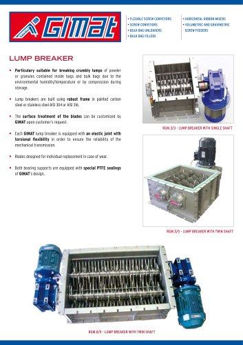 LUMP BREAKER