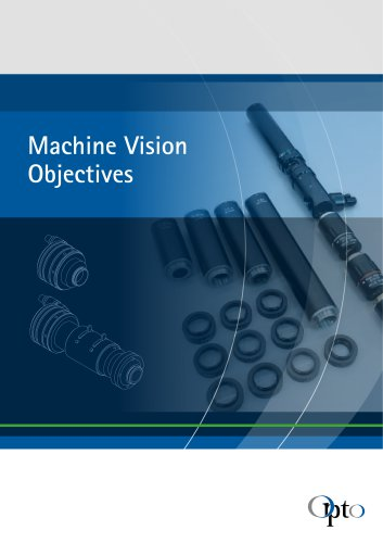 Machine Vision Objectives