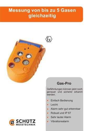 Mehrfachgasmessgerät Gas-Pro