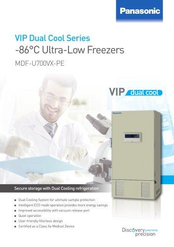 -86°C Ultra-Low Freezers MDF-U700VX-PE