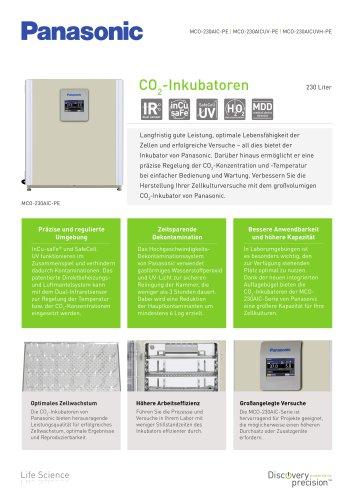 MCO-230AIC IncuSafe CO2-Inkubatoren