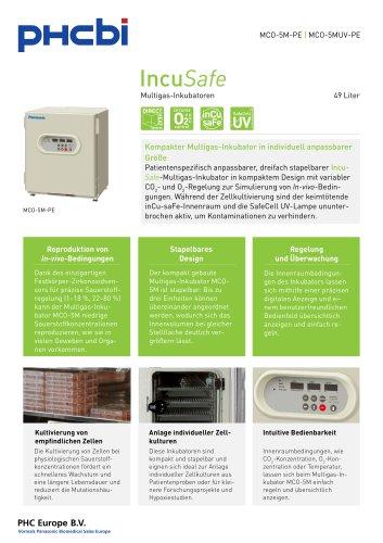 MCO-5M-PE Multigas-Inkubatoren