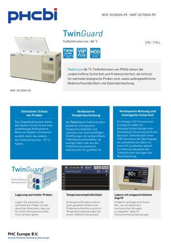 MDF-DC500/700VX-PE Tiefkühltruhen bis –86˚C