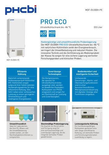 MDF-DU300H-PE Ultratiefkühlschrank bis –86 °C