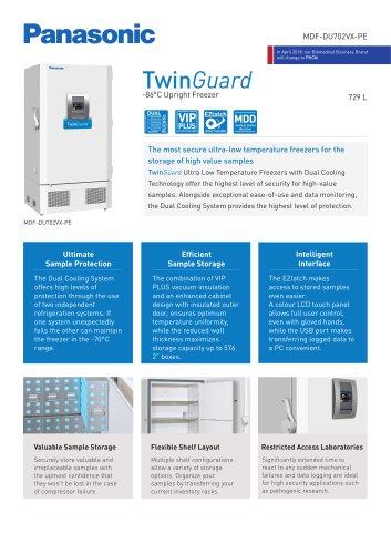 MDF-DU702VX-PE TwinGuard ULT Freezer