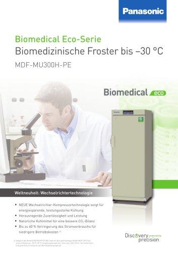 MDF-MU300H-PE Biomedizinische Froster bis –30 °C