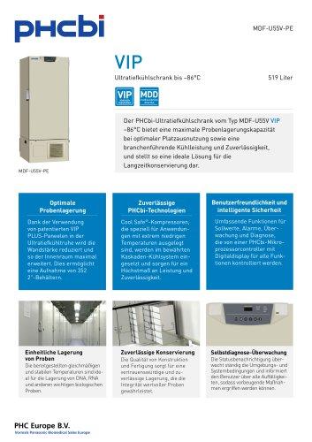 MDF-U55V-PE Ultratiefkühlschrank bis –86°C