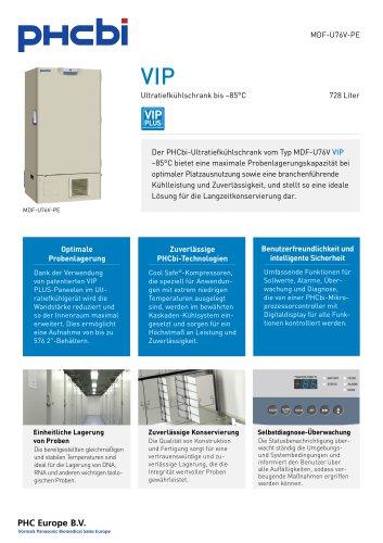 MDF-U76V-PE Ultratiefkühlschrank bis –85°C