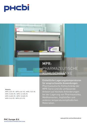 MPR: PHARMAZEUTISCHE KÜHLSCHRÄNKE