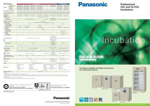 Professional Co2 and O2 Co2 Incubators