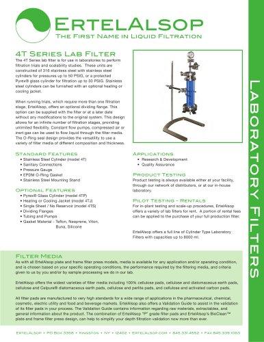 4T Lab Filter Tech Sheet