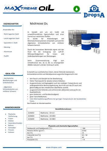 MaXtreme Oil