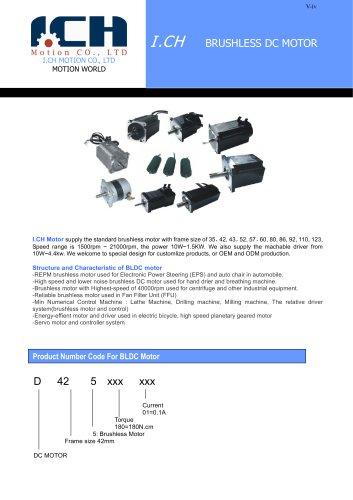 I.CH--Brushless DC Motor