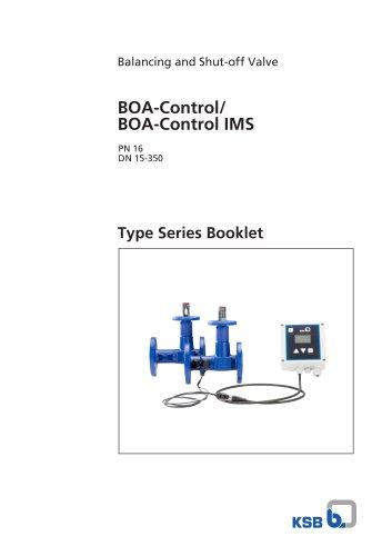 BOA-Control/ BOA‑Control IMS