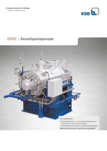CHTC - Kesselspeisepumpe