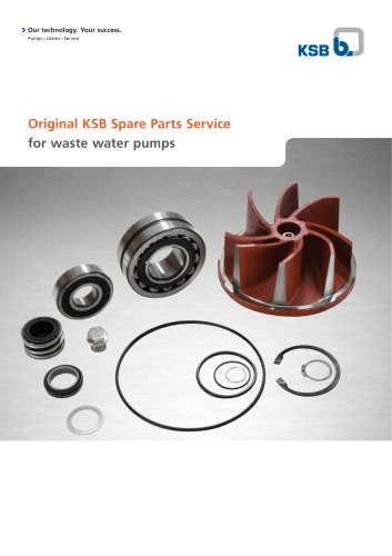 Original KSB Spare Parts Kits