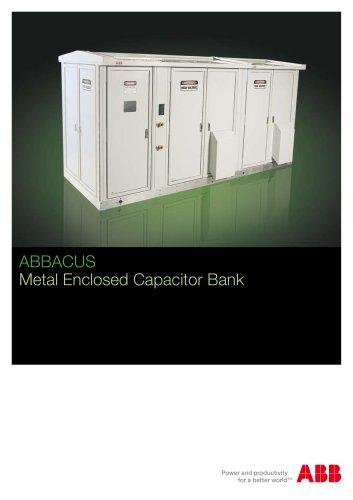 Metal Enclosed Capacitor Bank