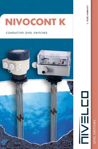 NIVELCO LEVEL SWITCHES - CONDUCTIVITY - NIVOCONT K