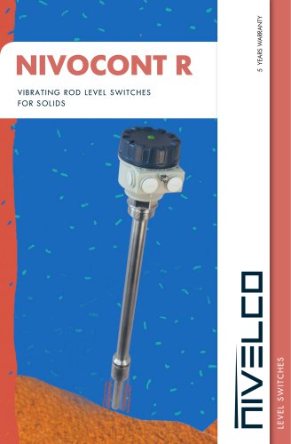 NIVELCO LEVEL SWITCHES - VIBRATION ROD - NIVOCONT R