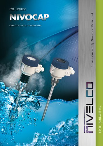 NIVELCO LEVEL TRANSMITTERS - CAPACITIVE - NIVOCAP
