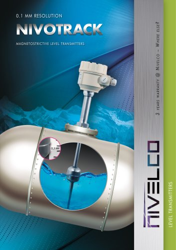 NIVELCO LEVEL TRANSMITTERS - MAGNETOSTRICTIVE - NIVOTRACK