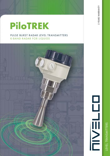 NIVELCO LEVEL TRANSMITTERS - NON-CONTACT MICROWAVE FOR LIQUIDS - PiloTREK