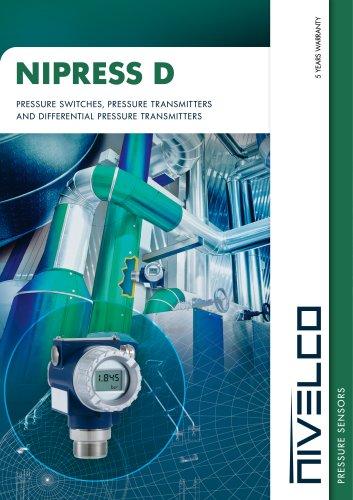 NIVELCO PRESSURE SENSORS - NIPRESS