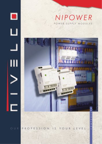 NIVELCO SYSTEM COMPONENTS - POWER SUPPLY MODULES - NIPOWER