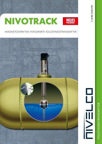 NIVOTRACK – magnetostriktive integrierte füllstandstransmitter