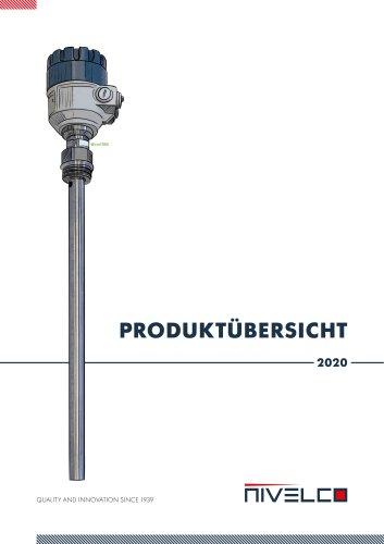 PRODUKTÜBERSICHT 2020