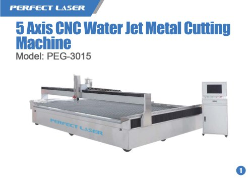 5 Axis CNC Water Jet Metal Cutting Machine