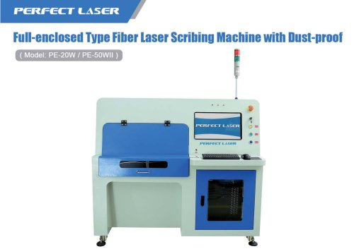 Full-enclose Type Fiber Laser Scribing Machine with Dust-proof