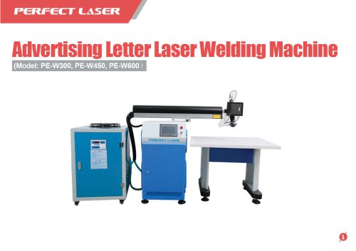 Perfect Laser - Advertising Letter Laser Welding Machine
