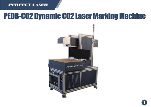 Perfect Laser Dynamic CO2 laser marking machine PEDB-CO2