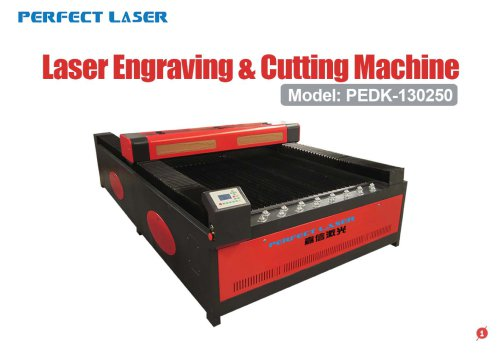 Perfect Laser - High Quality Laser Engraving And Cutting Machine PEDK-130250
