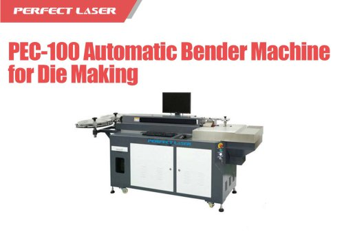 Perfect Laser - Self- developed Updated Automatic Bender Machine For Die Cutting PEC-100