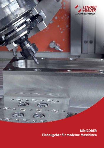 MiniCODER Einbaugeber für moderne Maschinen