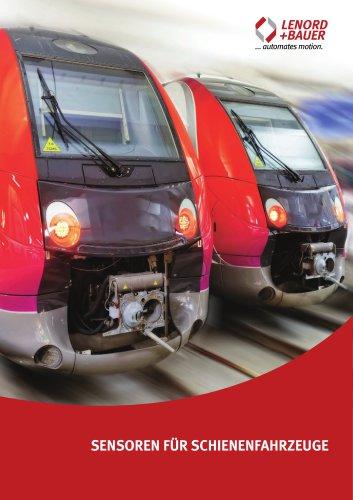 Sensoren für Schienenfahrzeuge