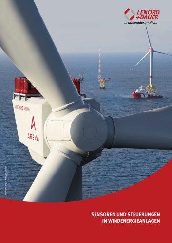 Sensoren und Steuerungen in Windenergieanlagen