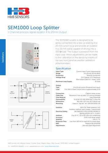 Isolators SEM1000