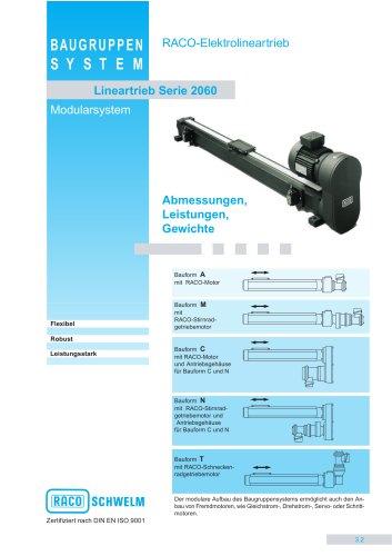 Kraftpakete - Lineartriebe LT2060